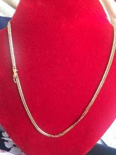 Necklace 18kt japan gold