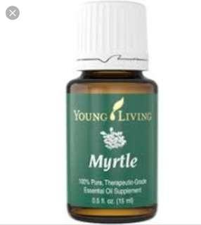 Young Living mrytle essential Oils
