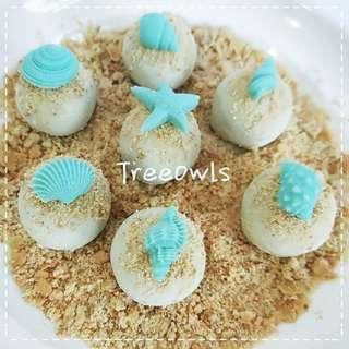 Seashell Cake Ball 🐚