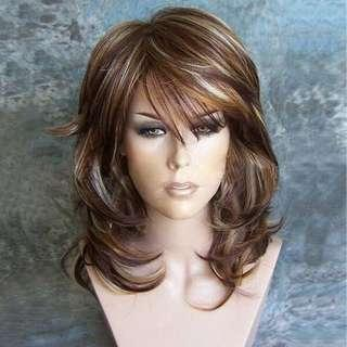 Beautiful highlighted Wig
