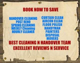 EXPERIENCE HOUSE CLEANING N HOUSE HANDOVER