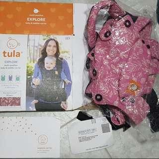 Free-to-grow Tula Explore (upgraded version of FTG) - Bloom (pink)