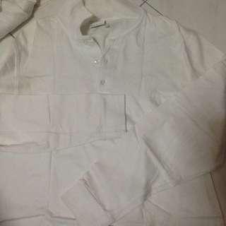 Cheetah White Shirt