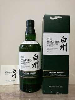 日本白州HEAVILY PEATED 重泥煤威士忌 2012版