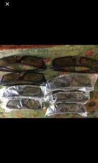 3D Glasses All 8 pieces just for $12