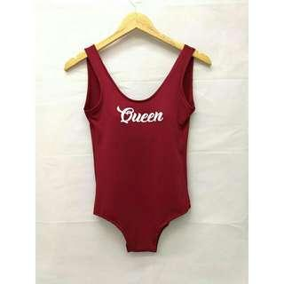 One Piece Lowback Padded Swimsuit
