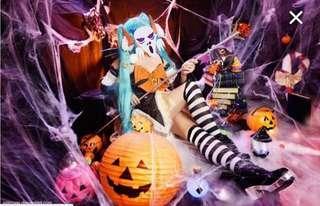 Halloween Miku cosplay