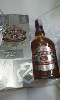 Chivas regal 12 1 liter