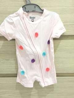 Cotton on baby onesie romper tassel
