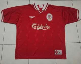 Liverpool 9798 home jersey