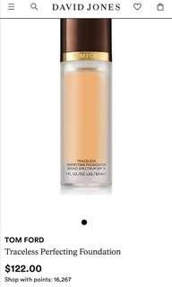 Tomford traceless perfecting foundation - 5.5 Bisque
