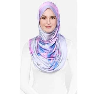 Duckscarves : The World Map Duck In Lilac