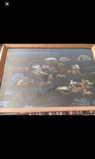 Tibetan Framed Art