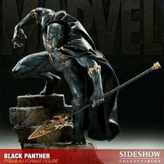 Sideshow Black Panther Exclusive PF Statue