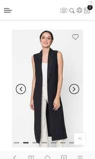FV Basic Khloe Longline Vest (Black)