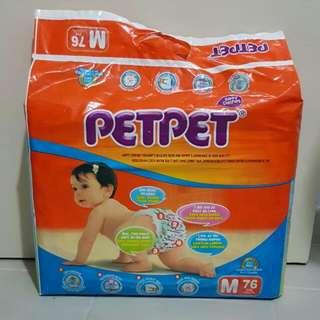 Petpet Diapers 1 New 1 Open FREE