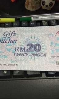 Aeon voucher rm100 for rm85