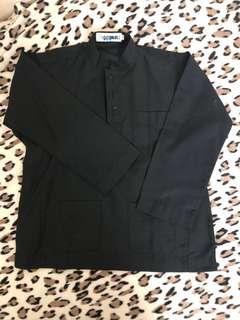 Baju melayu & sampin Omar Ali size 5 /budak lelaki /hitam