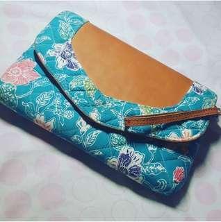 Modern Batik Clutch