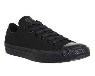 converse low cut all star shoe