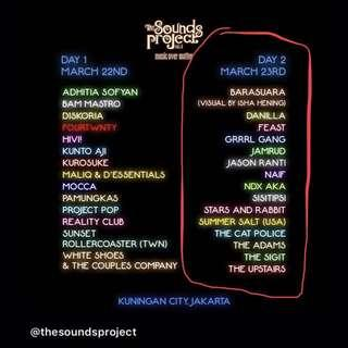 Tiket The Sounds Project Vol 4 Day 2