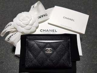Chanel Classic Cardholder in SHW