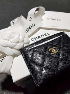 Chanel Classic Cardholder in GHW