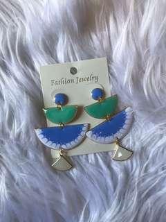 Pastel earring