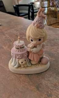 "Precious Moments Figurine - "" Happy Birthday"""