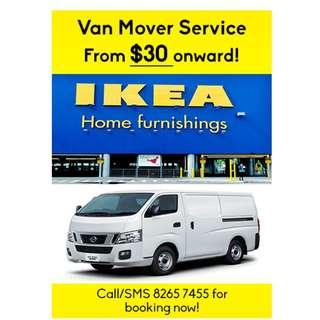 Van Mover Delivery Services