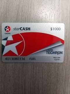出售加德士油站StarCASH卡