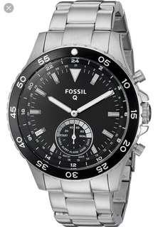 🚚 Fossil Q Crewmaster stainless (authentic )