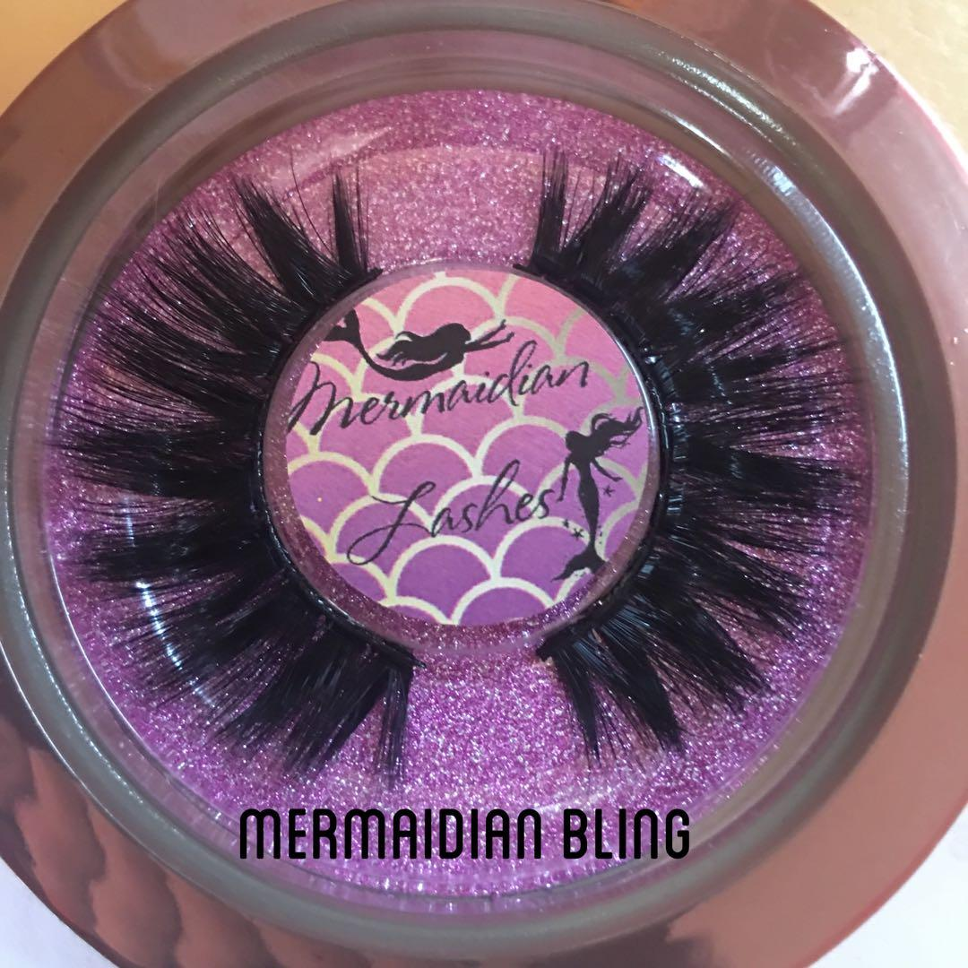 100% Real 3D Mink Handmade Eyelashes Mermaidian Lashes