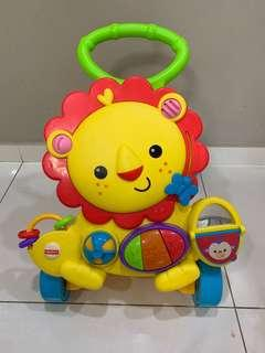 🚚 Fisher Price Musical Lion Walker