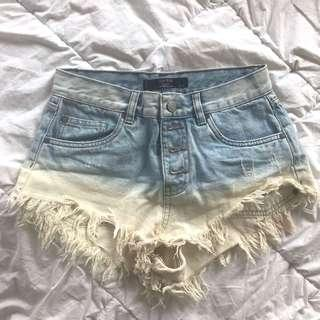 Factorie Ombre Flare Shorts