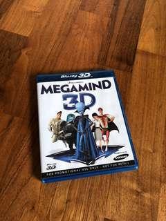 Megamind 3D Blu-ray bluray