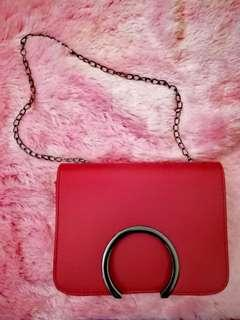 Red Elegant Sling bag for Women