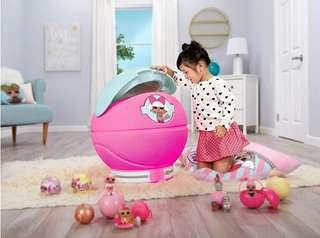 (PO) BN L.O.L. Surprise! Storage Toy Chest or Laundry Basket Giant Ball For LOL Surprise! Dolls & Accessories