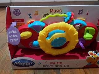 PlayGo Music Drive & Go Driving Toy