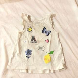 The children place tee