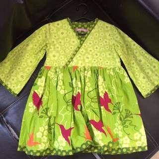 Jelly the pig dress 3T