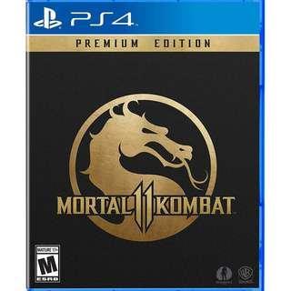 預訂 PS4 Mortal Kombat 11 特典高級版 鐵盒裝 PREMIUM EDITION STEELCASE 行貨中英 發售日:2019年4月23日