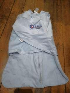 Halo SleepSack Swaddle Newborn blue