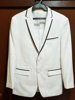 Formal white suit for Men