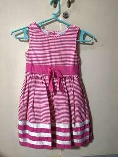 Celia Ashley Pink Stripes Dress