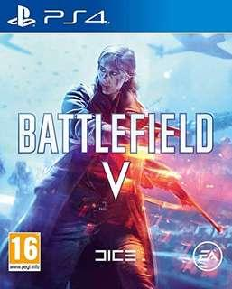 Ps4 Battlefield 5 game playstation 射擊