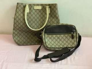 Gucci bags*2