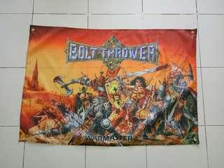 Bolt Thrower poster flag