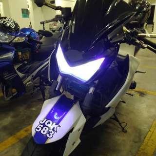 headlamp z250/z800