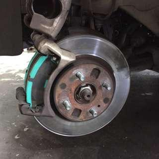 Project U Front Brake Pad Ford Fiesta / Mazda 2